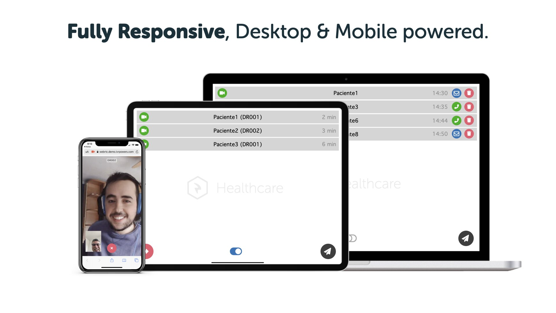 Virgo Healthcare - Fully Responsive